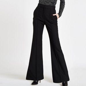 Pilcro black flared pants 80s vintage size 31